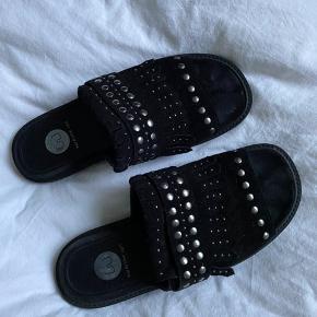 Fine sandaler fra wardrobe cph. Næsten helt som nye 🤍 bud ønskes