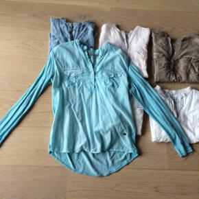 Lækre skjorter fra Copenhagen Luxe str. M Alle i pæn stand Hvide 100kr pr. stk.  Farvede 200kr pr stk.
