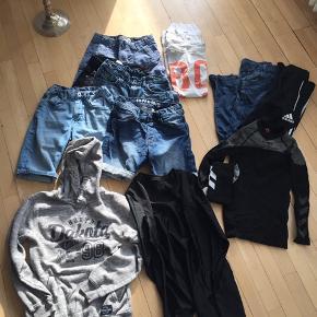 Str 146/152 HOGM NAME IT ADIDAS HUMMEL og andre  Indeholder  Shorts  T-shirts Jeans Bukser Bluser