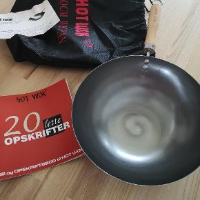 Aldrig brugt wok pande.