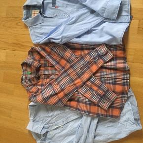 Diverse skjorter Levis, Benetton og Skill