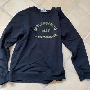 Karl Lagerfeld hættetrøje