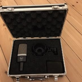 Brand new AKG C214. Used once and has been collecting dust ever since. Please give it a new loving home like it deserves.