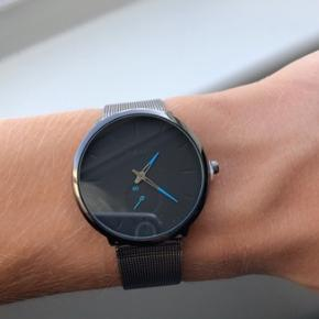 Stilrent ur til mænd   40mm urskive, quartz glas