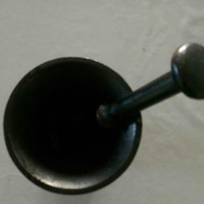 Støbejern morder, i sort Ny pris, 349,-kr