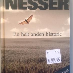 Håkan Nesser: En helt anden historie.  Aldrig læst. Stadig med prismærke.  Afhentes eller sendes med DAO.