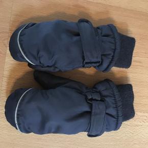 Thinsulate luffer i str 4/5 lækre og varme - uden huller eller slid.