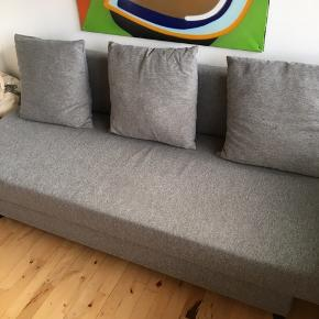 "IKEA sovesofa ""Asarum"". Flot stand. Nypris: 1.799,-"