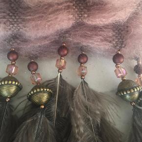 Smukt Abafazi halstørklæde af mohair fra Buch Copenhagen.  Aldrig brugt.