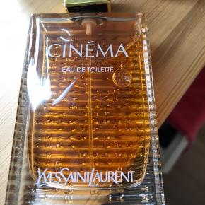 Cinema EDT fra Yves Saint Laurent. 50 ml - kun afprøvet en enkelt gang. Ny pris kr 549,-.