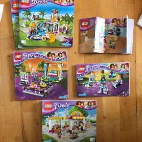 LEGO friends nr 41313, 41133, 41128, 41118 og 41307 Alt legoet er samlet i en boks som med følger.  Der kan bydes på sættet som en helhed ☺️