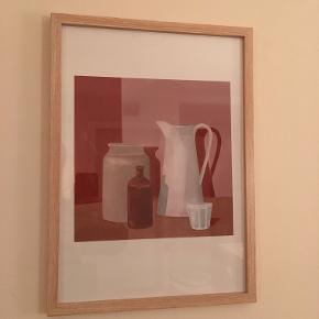 Plakat illustreret af Sally Trier (mig) Signeret 300 kr. 25 x 25 cm  Ramme følger IKKE med