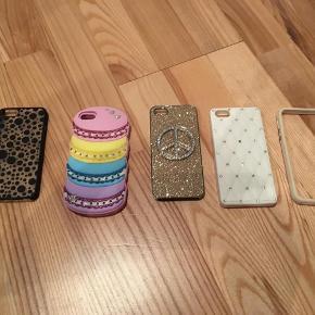 Brand: - Varetype: iPhone 5 cover Størrelse: - Farve: Se billede  Lækre iPhone 5 covers til salg, fin stand! 30kr. +pp Og Katy Perry macharons cover.. 100kr+pp