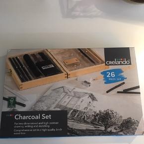 Tegnesæt - charcoal Helt nyt