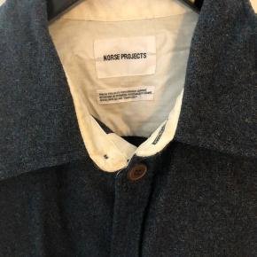 - Lækker uld overshirt fra Norse  - Brugt 1-2 gange