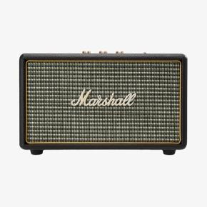 Sælger denne højtaler fra Marshall købt i Elgiganten. Marshall Acton Bluetooth-højttaleren er en kompakt aktiv stereo-højttaler, der giver enorm lyd fra sit klassiske og ikoniske design. Oplev en velbalanceret, fyldig lyd med klare mellemtoner, forlængede høje toner og kraftfuld, dyb bas, som vil fylde ethvert rum.  3 styreknapper: Acton's 3 analoge styrehjul lader dig fintune lyden, så den bliver præcist som du foretrækker den.  Bluetooth-streaming: Acton højtaleren kommer i et klassisk og tidsløst design, men overrasker med moderne teknologi, som gør, at du kan nyde trådløs musik fra en hvilken som helst Bluetooth-kompatibel mobiltelefon, tablet eller computer.  Inkluderet: - Flettet ledning med 3,5 mm stik i begge ender - Brugermanual  📍Kan hentes centralt i Roskilde 📍Kan sendes med DAO på købers regning 📍Bytter ikke