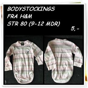 Bodystockings fra h&m str 80