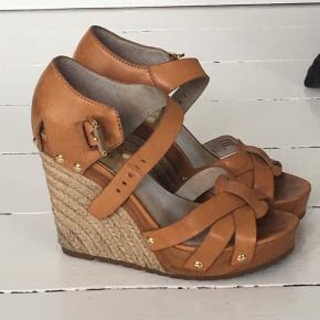 Fine læder sandaler str. 38 brugt max 8 gange