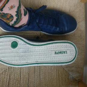 Lacoste graduate sko i navy. Str. siger 46 med fitter mindre ca. 44 som jeg normalt bruger
