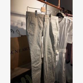 Beige cheetah printet bukser, brugt meget lidt Str 36