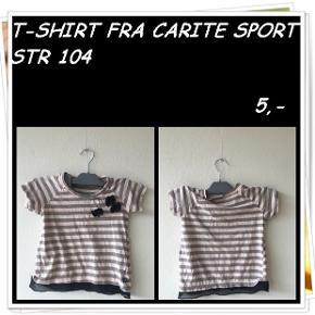 T-shirt fra carite sport str 104
