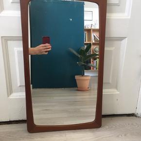 Retro spejl med patina. 35x60 cm