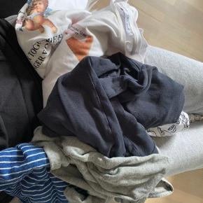 Tøjpakke med trøjer fra ZARA, primark, Michel kors og andre mærker skrev pb for billeder af trøjerne