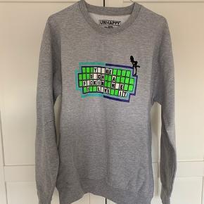 Sælger denne fede merch sweatshirt, fra Kanye West og Lil Pumps sang 'I love It'   Rigtig fed og enkel trøje.   Aldrig brugt eller prøvet på.