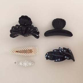 Smukke hårspænder fra blandt andet Sui Ava. 40 kr/stk eller 150 for det hele!