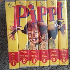 Pippi Langstrømpe VHS