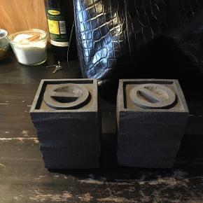 Keramik, håndlavet! Kan bruges som æsker, vaser, pynt.. kan stilles ovenpå hinanden, har 6 stk 🎆 kom med et bud!