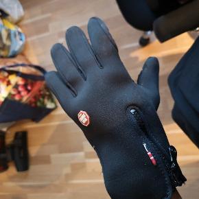 Super lækre handsker som dækker for vinden