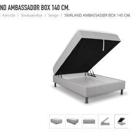 Småland ambassadør box 140•200 cm med gavl  Aldrig brugt men har åbnet plastikken for boxen  Sælges da der ikke var plads til den alligevel