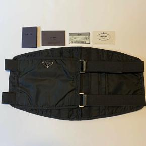 Prada nylon waistbag fra 1999, alt originalt er inkluderet - ingen skambud