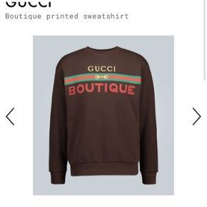 Super sej sweat fra Gucci- Den er super super fin. Str Medium-