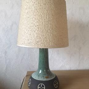 Frank keramik bordlampe, stor