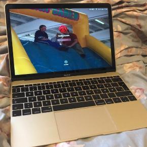 PRIS: 6000kr  Sendes ikke og tager ikke imod kontanter   Sælger denne Mac Book 12 da jeg ikke er mac typen og har købt ny computer   Ny pris 11.000kr  Den er perfekt stand og ca 3 år gammel  Den er super hurtig og guld farvet