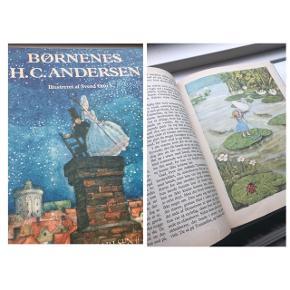 Børnenes H. C. Andersen Smuk bog med smukke farve-tegninger  Super fin stand Købt i midt 90'erne  (Flere H. C. Andersen bøger til salg)