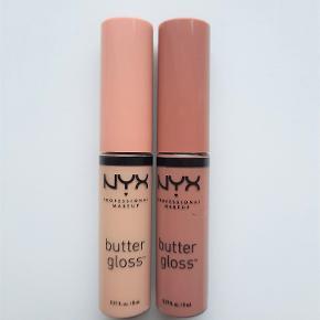 🌸 NYX Butter Gloss i farverne Fortune Cookie og Madeleine. 🌸 Begge er testet en enkelt gang 🌸 Prisen er pr stk 🌸 Køber betaler fragt - DAO eller PostNord
