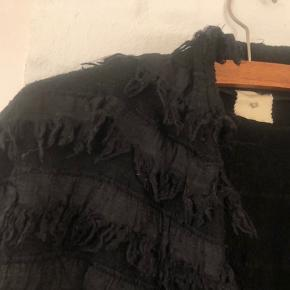 Fin vest  Passer til jeans og nederdel  Sort