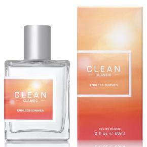 CLEAN endless summer parfume.   Aldrig brugt (stadig pakket i folie). Perfekt sommerduft ☀️ 60 ml