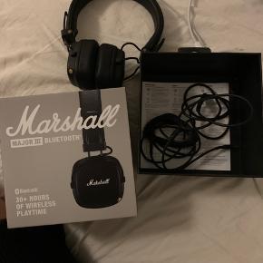 Marshall høretelefoner ligeså gode som nye med boks og det hele med
