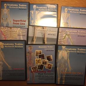 DVD'ER! Hele serien af Tom Meyers Anatomy Trains.