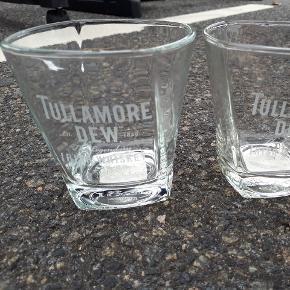 Tullamore whiskey glas. Sælges helst samlet