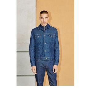 Denim jakke (Laust jacket 10693 - Coral blir)Samsøe & Samsøe Størrelse: Large Aldrig brug, stadig med prismærke. Nypris: 1100kr.