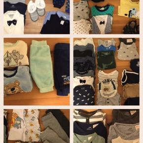 Gives væk gratis!!!  Tøj til drenge i størrelse 56-74.