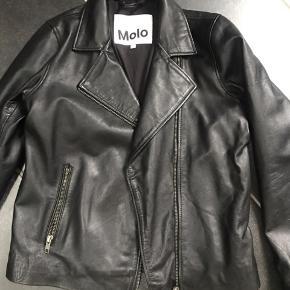 Ny læder jakke fra Molo 100 % læder.