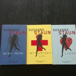 3 bøger i samme krimi serie - sammenhængende