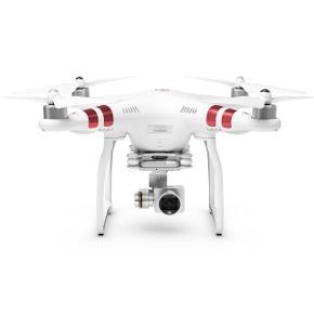 DJI Phantom 3 - StandardBrugt til 5-7 flyvninger. Som helt ny!  - Video kan optages i op til 2.7 K  - 12 megapixel billeder  - HD-livestream  - Bevægeligt kamera, med 3-akset stabilisator  - Ekstra sæt propeller  - Fjernbetjening med holder til mobilen  Købt for 4.500 kr.