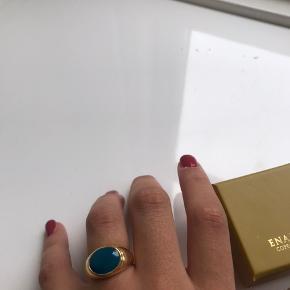 Ring fra enamel  Str: 54  Np: 450kr Mp: 200kr  (Køber betaler fragt)